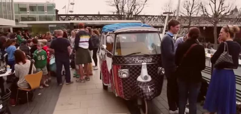 Bajaj Rickshaw in London
