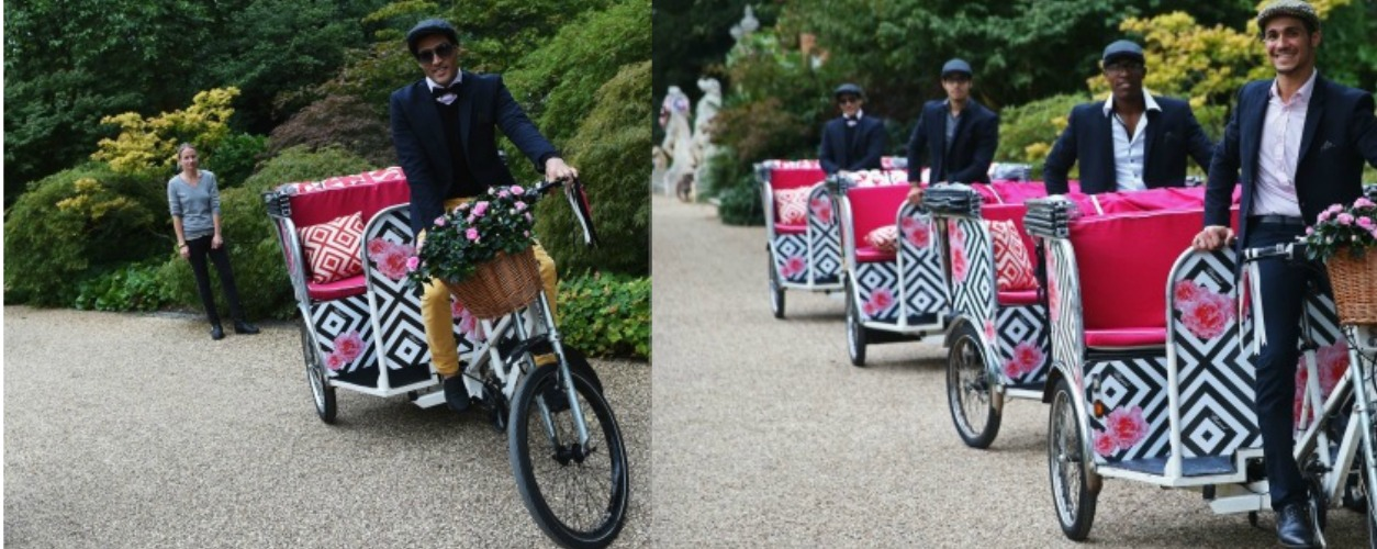 Cycle Tuktuk Hire for Elton John's End of Summer Party
