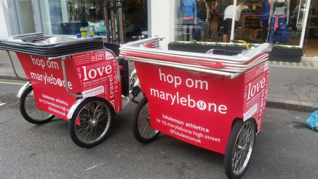 Bicycle Tuktuks for Events